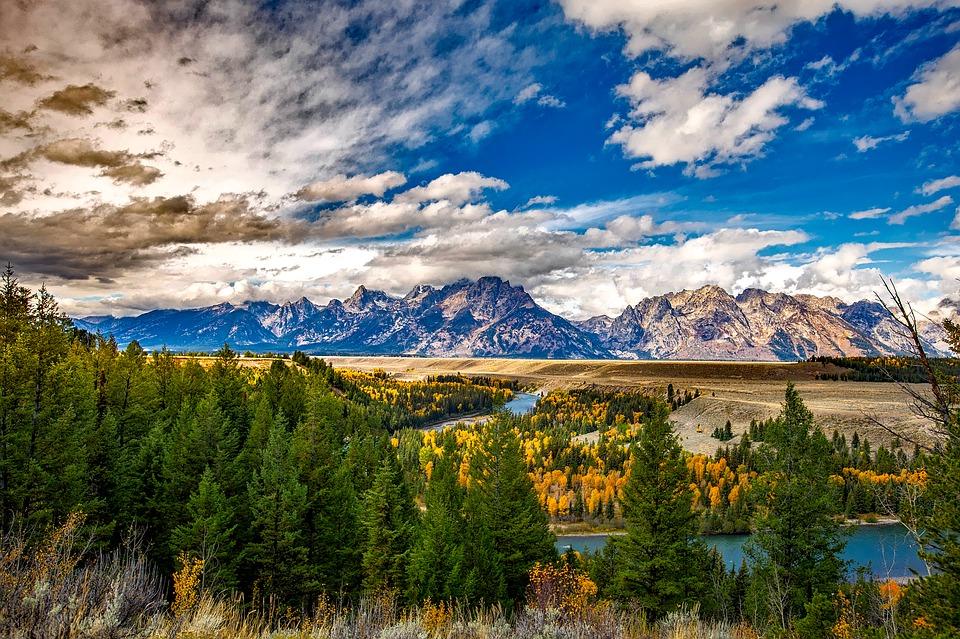 Teton à Wyoming