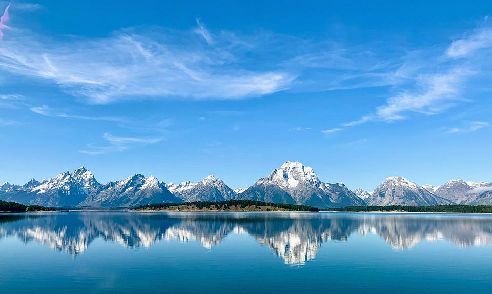 Comté de Teton à Wyoming : Apaisez vos yeux avec de la verdure